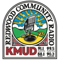 Logo of radio station KMUD 91.1 fm