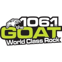 Logo of radio station CKLM The Goat 106.1 FM
