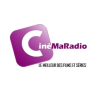 Logo of radio station CinéMaRadio