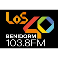 Logo of radio station Los 40 Benidorm