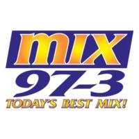 Logo of radio station KMXC Mix 97.3