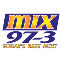 Logo of radio station KMXC Mix 97.3