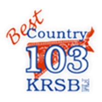 Logo of radio station KRSB Best Country 103