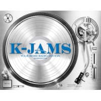 Logo of radio station kjams radio