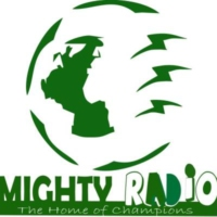 Logo of radio station Mighty Radio