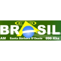 Logo of radio station Radio Brasil AM