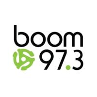 Logo de la radio boom 97.3 FM