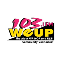 Logo of radio station 103 WEUP