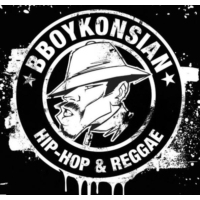 Logo of radio station BBoy Konisian