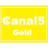 Logo of radio station Canal 5 Gold