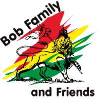 Logo of radio station Bob Family and Friends