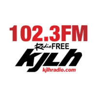 Logo of radio station KJLH 102.3 Radio Free