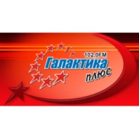 Logo of radio station Галактика плюс