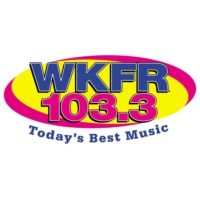 Logo of radio station 103.3 WKFR