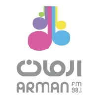 Logo of radio station Arman FM 98.1