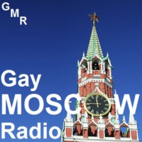 Logo of radio station Gay Moscow Radio
