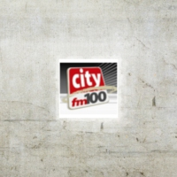 Logo of radio station City FM 100