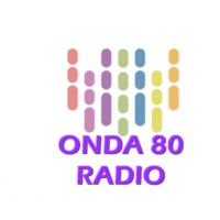 Logo of radio station ONDA 80 RADIO