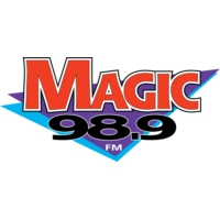 Logo of radio station KYMG Magic 98.9fm