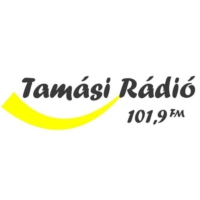 Logo of radio station Tamási Rádió