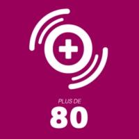 Logo of radio station Mona FM   Plus de 80