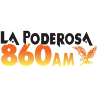 Logo of radio station XEMO La Poderosa 860