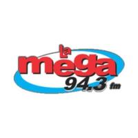 Logo of radio station XHVO La Mega 94.3 FM