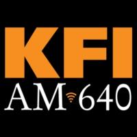 Logo of radio station KFI AM 640