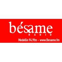 Logo of radio station Bésame 94.9 FM - Medellín