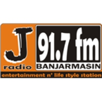 Logo of radio station J Radio 91.7