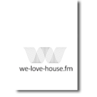 Logo of radio station We Love House.FM