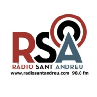 Logo of radio station Ràdio Sant Andreu 98.0 fm