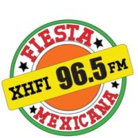 Logo of radio station XHFI Fiesta Mexicana 96.5