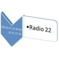 Logo of radio station RADIO 22