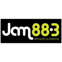 Logo of radio station DWJM Jam 88.3
