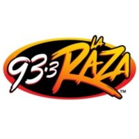 Logo of radio station KRZZ La Raza 93.3