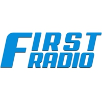 Logo of radio station First Radio
