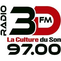 Logo of radio station Radio 3DFM
