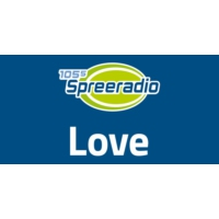 Logo of radio station 105.5 Spreeradio Love