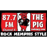 Logo of radio station The Pig 87.7 FM