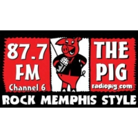 Logo de la radio The Pig 87.7 FM