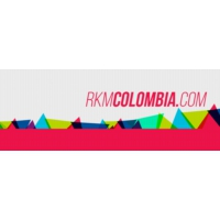 Logo of radio station Rkm Radio Colombia