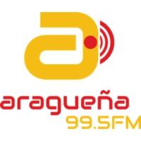 Logo of radio station Aragüeña FM 99.5 FM Maracay