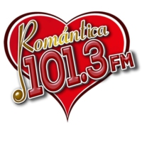 Logo of radio station Romántica 101.3 FM