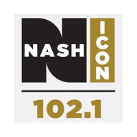 Logo de la radio WNUQ 102.1 Nash ICON