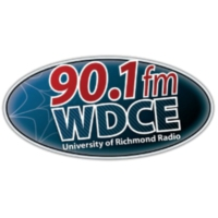 Logo of radio station WDCE University of Richmond