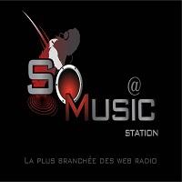 Logo of radio station SoMusic Station