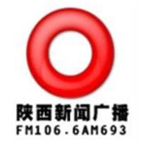 Logo of radio station Shaanxi News Radio 106.6