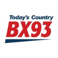 Logo of radio station CJBX 93 FM