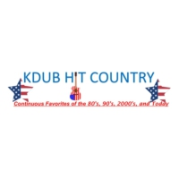 Logo de la radio Kdub Hit Country